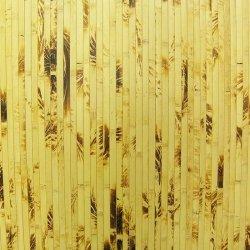 Бамбуковые обои Жёлтая черепаха 17 мм 200 см