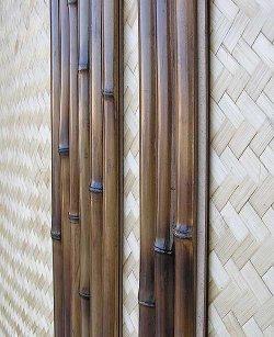 Бамбуковый сайдинг - стеновые панели из бамбука