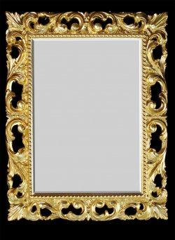 Зеркало багет№5 Поталь, золото