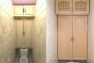 Встраеваемый шкаф для туалета